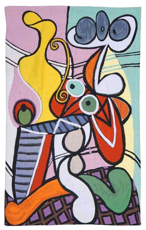 pablo picasso nature paintings modern wall tapestry grande nature morte au gueridon
