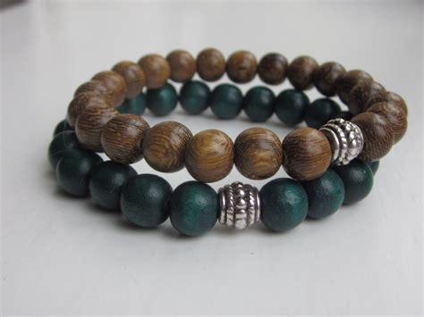 mens wood bead bracelet wood bead bracelet mens bracelets simple bracelet wooden