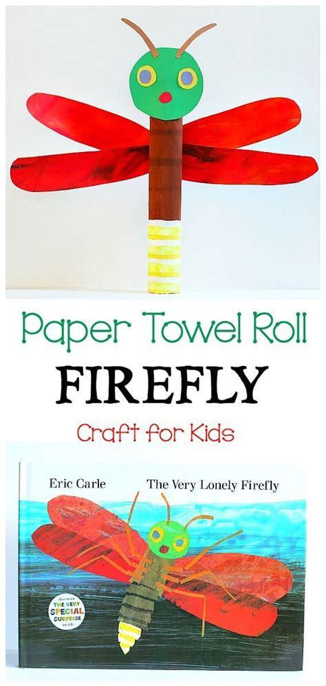 paper towel roll crafts for paper towel roll firefly craft for fireflies craft