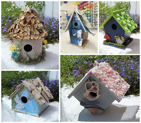 craft projects for adults birdhouse crafts 5 ways to create a birdhouse you will