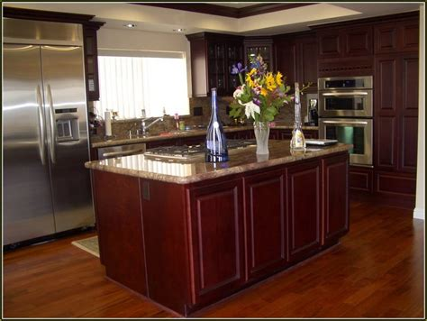 Cherry Cabinets by Cherry Wood Kitchen Cabinets Home Design Ideas