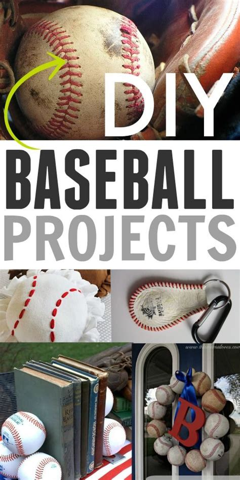 baseball craft projects best 25 baseball crafts ideas on