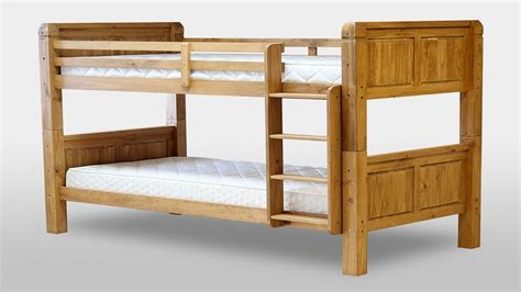pine bunk beds chunky pine bunk bed homegenies