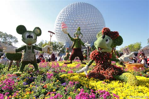 the 2015 epcot international flower and garden festival