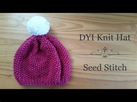how to knit seed stitch 1000 images about knitting hats on beanie