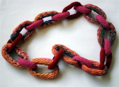 how to knit a necklace knitted chain necklace 183 how to knit or crochet a knit or