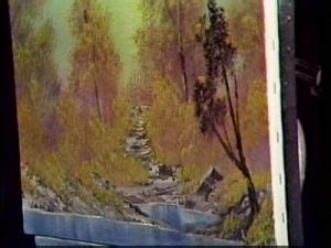 bob ross paintings season 1 palette knife an almighty easel