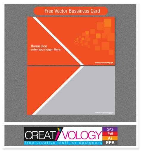 how to make front and back business cards in word abstract front back business card template vector free