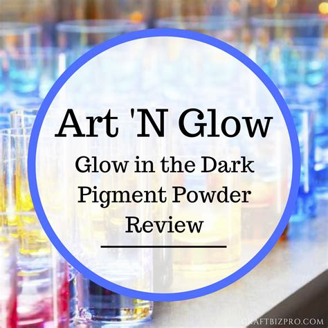 glow in the paintings products n glow glow in the pigment powder review craft