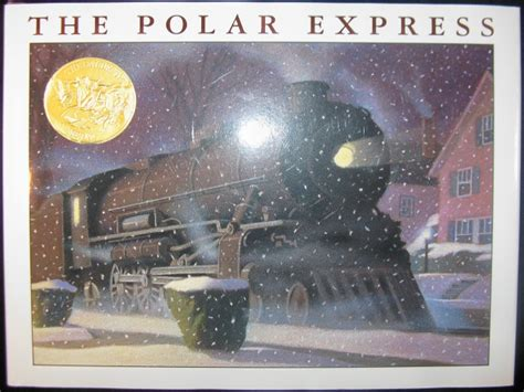 the polar express picture book the polar express by chris vanallsburg breannarittenhouse