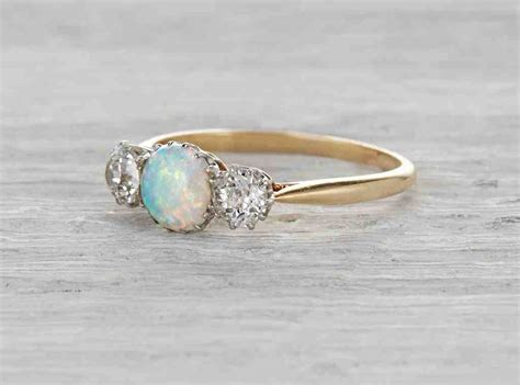 Opel Rings by Opal Engagement Ring Www Imgkid The Image Kid Has It