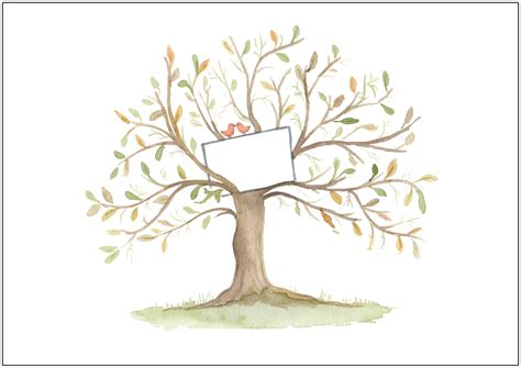 celebrate it tree celebration tree illustration print nicky johnston