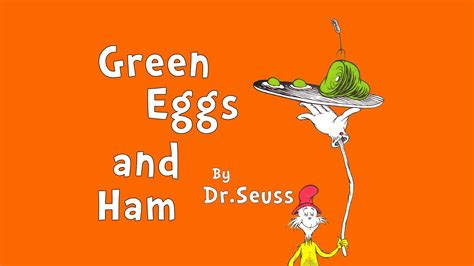green eggs and ham pictures from the book read aloud quot green eggs and ham quot by dr seuss a book for