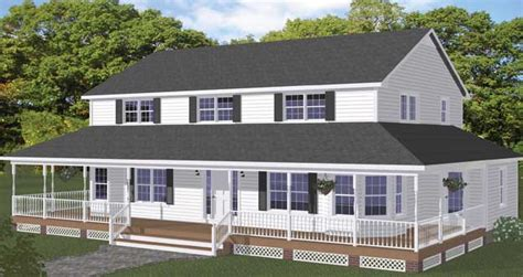 2 story farmhouse plans free blueprints new line home design two story homes