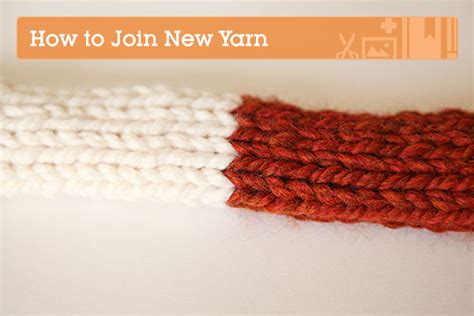 how to join yarn knitting knitting fundamentals how to join new yarn tuts crafts