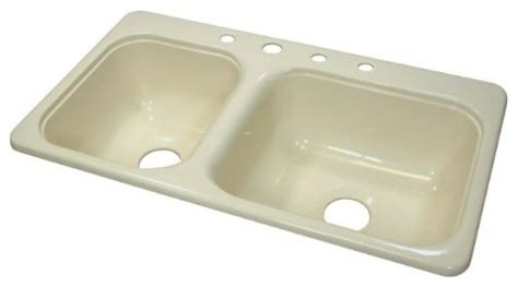 kitchen sinks for mobile homes kitchen sink 33 quot l x 19 quot w manufactured mobile home acrylic