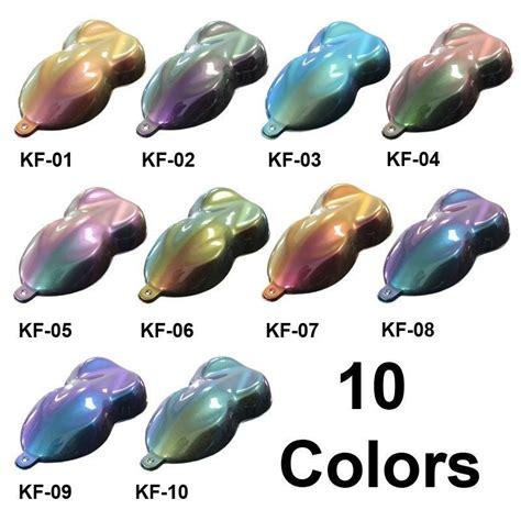 paint colors used on flip or flop chameleon paint one quart of unreduced flip flop