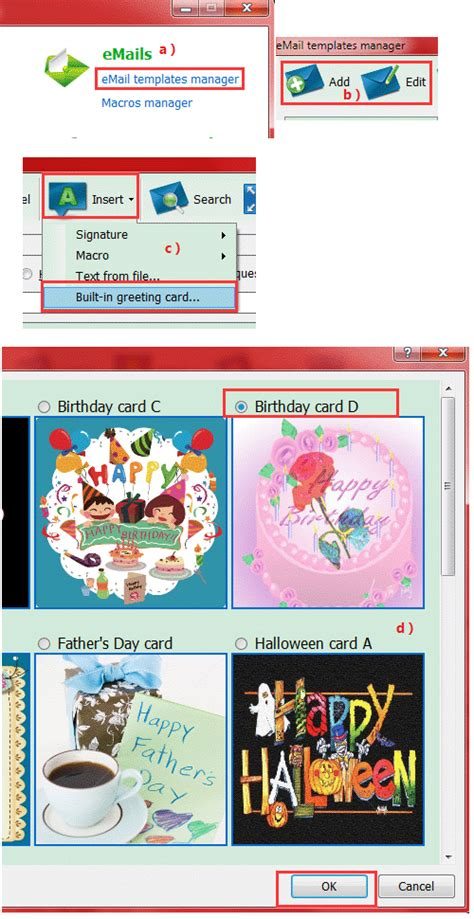 e card software how to send an ecard in ams birthday edition automailer