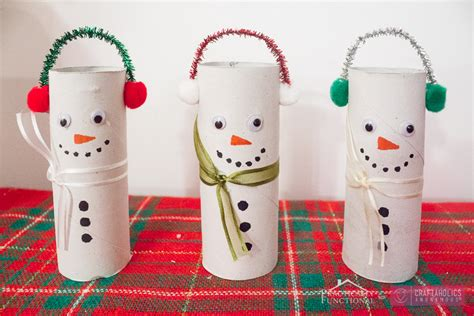 toilet paper roll snowman craft craftaholics anonymous 174 diy toilet paper roll snowmen