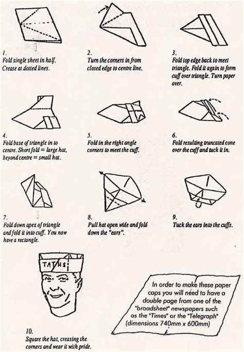 how to make an origami sailor hat blogdial 187 how we do it