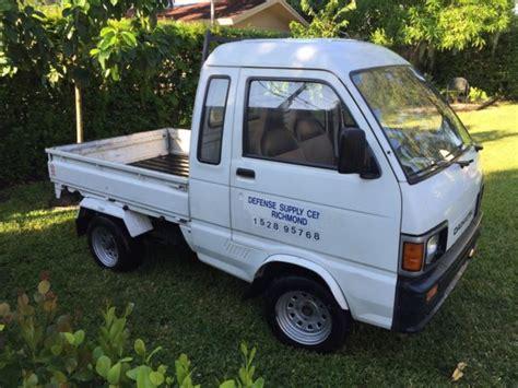 Daihatsu Mini Truck For Sale by Daihatsu Hijet Mini Truck 1988 Government Vehicle For