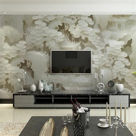 living room wall murals aliexpress buy custom size wall murals papel de