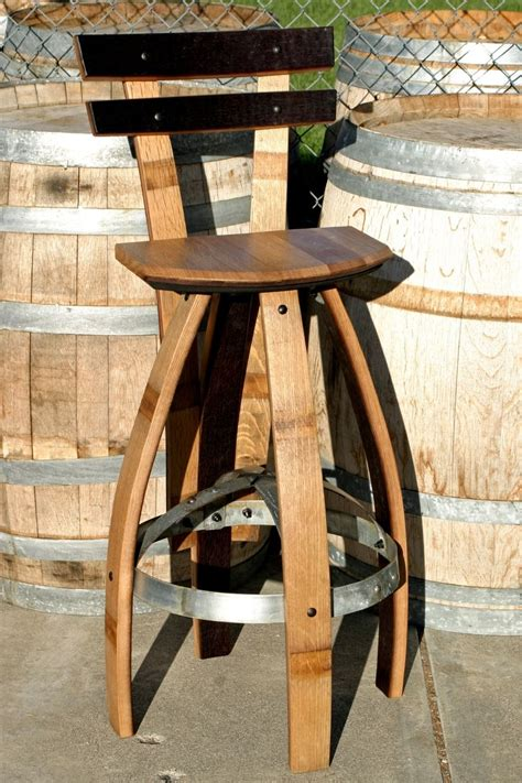 Custom Wood Bar Stools by Buy A Custom Made Bar Stool With Backrest In Oak Made To