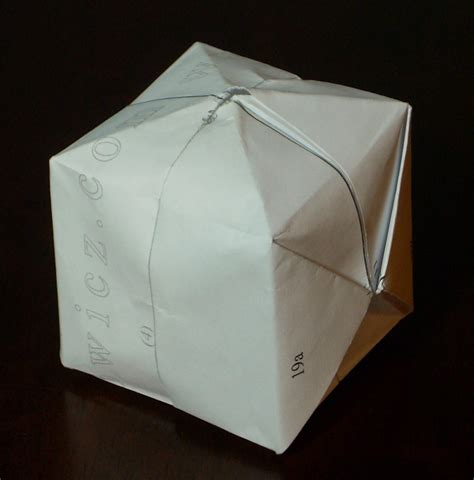origami water bomb pdf category waterbomb