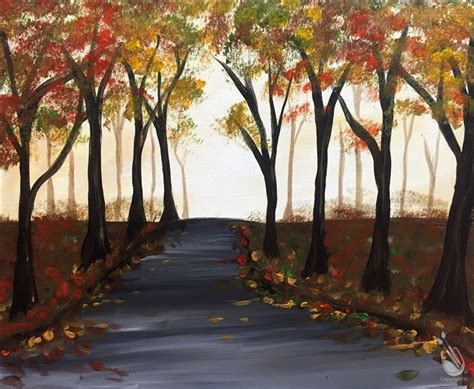 paint with a twist columbia tn autumn forest saturday september 17 2016 painting