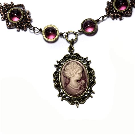 how to make cameo jewelry steunk cameo necklace 2 by catherinetterings on deviantart