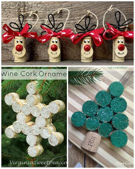 christma craft ideas wine cork craft ideas crafty morning