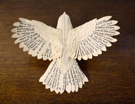 craft paper bird handmade wood paper birds by zack mclaughlin colossal