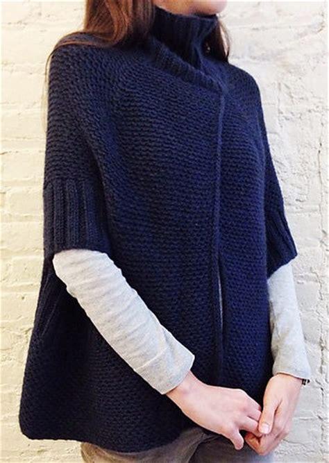 modern knitting patterns modern poncho knitting patterns in the loop knitting