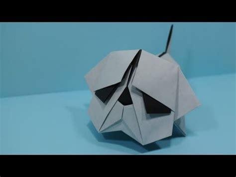 origami bulldog origami bulldog by jacky chan