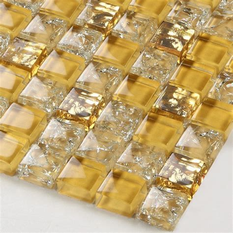 gold glass tile backsplash glass tile backsplash border bathroom gold glass