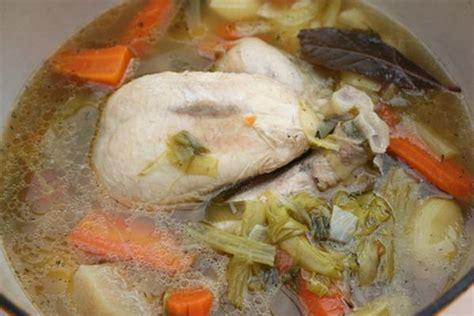 recette poule au pot 750g
