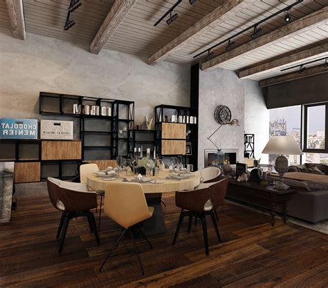 industrial look industrial look office interior design intended for
