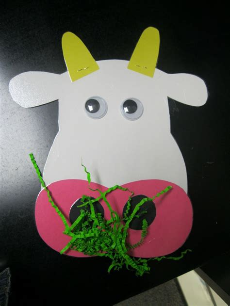farm crafts for cow craft for farm animals unit animal crafts