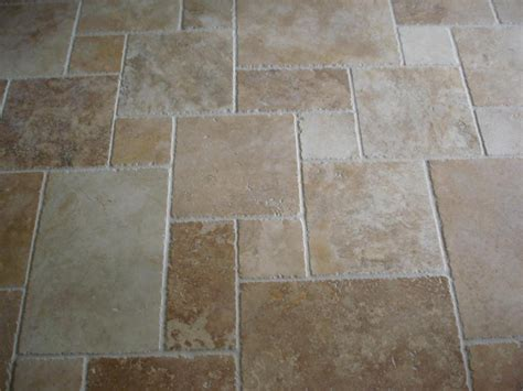simple unorganized travertine tile patterns design rustic kitchen flooring ideas rugdots com