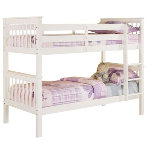 bunk beds white white bunk beds beds direct warehouse gainsborough