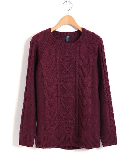 maroon knit cardigan maroon cable knit sweater