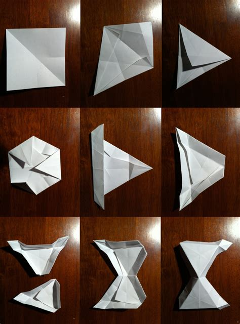 how to make a origami soccer setting the crease surface to structural procrastigami