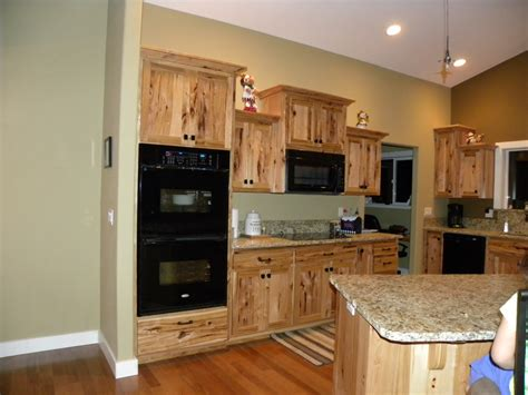 paint colors for kitchen with hickory cabinets river custom cabinets rustic hickory cabinets