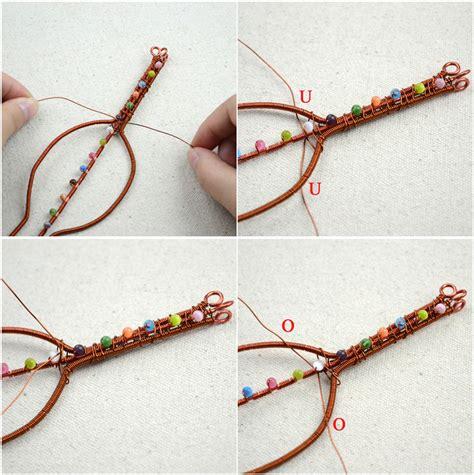 bracelet ideas with diy crafts extraordinary leaf shape wire bracelet