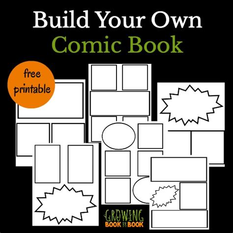 print your own picture book cool comic book templates for