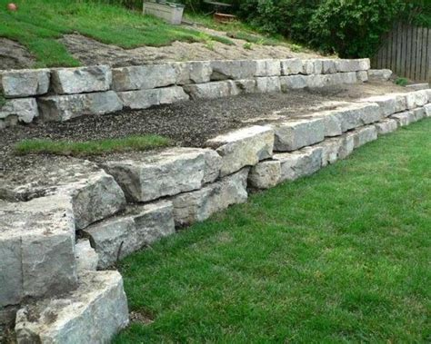 garden wall stones 25 best ideas about retaining wall on