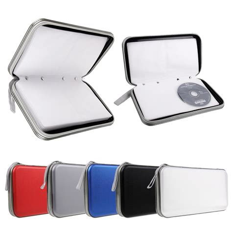 classeur rangement boite pochette etui range 40 80 cd dvd sac sacoche plastique ebay