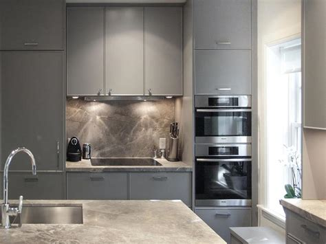 flat front kitchen cabinets gray flat front kitchen cabinets contemporary kitchen