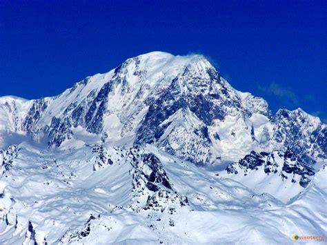 photo sommet du mont blanc