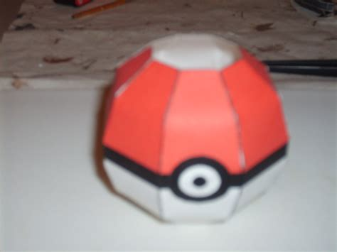 origami pokeball simple pokeball papercraft by austinmeadows